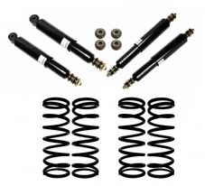 Land Rover Defender 110 Up To: WA159806 - Oil Standard Height Suspension Kit